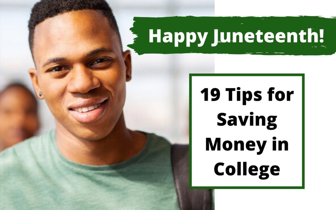 19 Tips for Saving Money in College